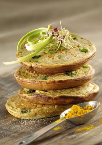 POTATO AND BROCCOLI PANCAKES