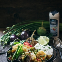 Easy Coconut Ginger Shrimp Curry Recipe
